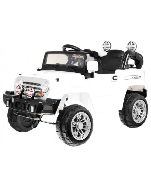 Elektrické autíčko JEEP JJ245 biele